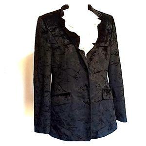 Ralph Lauren crushed velvet blazer